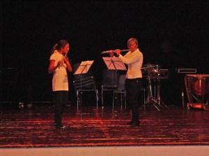 Frida og Vera duett