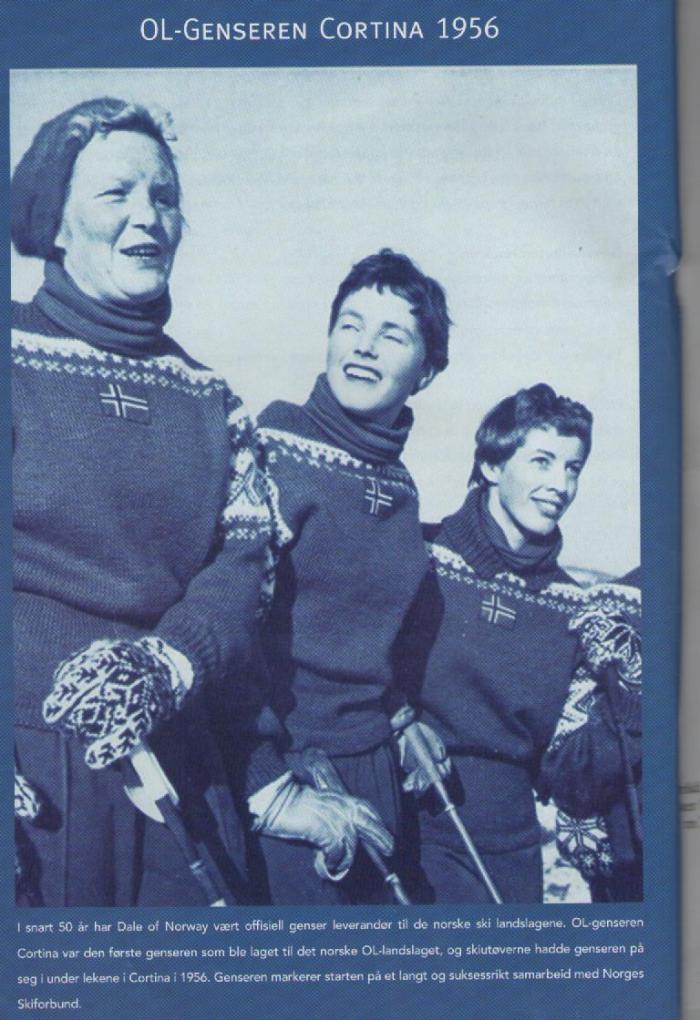 Offisiell OL genser 1952