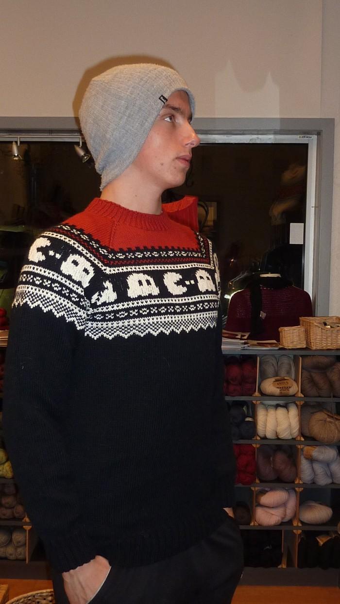 Pac man genser