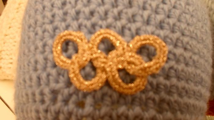 Heklede OL ringer i gull